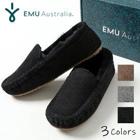 Taila-PL(EMU エミュー モカシン スリッポン スウェード 靴 秋 冬)