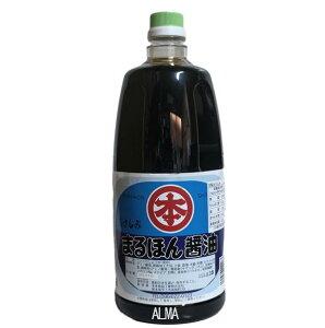 まるほん醤油 こいくち醤油 別撰おさしみ 1800ml(1.8L)ペット 本多食品工業