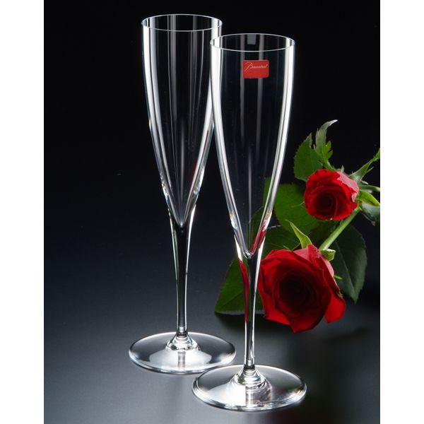 【名入れ専門】【名入れ プレゼント】バカラ ドンペリニョン シャンパンフルートペアセット