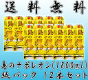 島のナポレオン 紙パック 25度/1800ml 12本セット【黒糖焼酎】【送料無料】