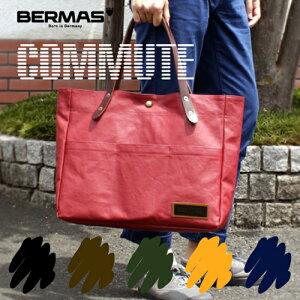 バーマス公式直営 トートバッグ カジュアル 帆布 日本製 豊岡 レディース キャンバス おしゃれ 布 メンズ 男女兼用 ポケット付き 多機能 人気 衣川産業 通勤 通学 コミュート 60450 BERMAS バー