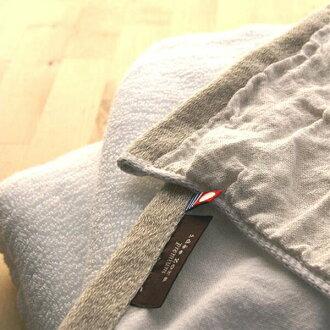 """手毛巾""""主意左拉·高级""""洗涤毛巾(亚麻布/白)"""