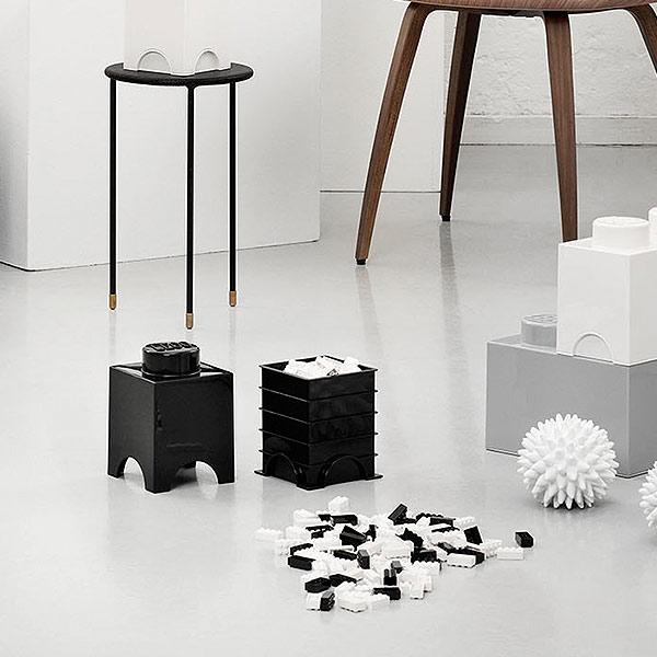 収納ボックス「LEGO」ストレージブリック(1)【レゴ 小物入れ スタッキング 収納 かわいい】