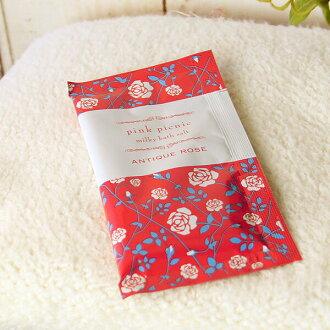 목욕 소금 「핑크 피크닉」로즈 밀 키