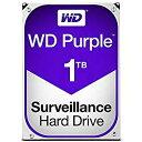 WESTERN DIGITAL WD10PURZ WD Purple 監視用 3.5インチ内蔵HDD 1TB SATA6Gb/s 5400rpm 目安在庫=○【10P03Dec16】