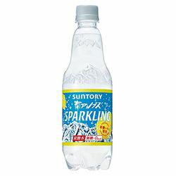 サントリー 南アルプスの天然水スパークリングレモンP 500ml×24本(03842054) 目安在庫=○【10P03Dec16】