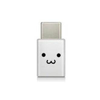 供Elcom智能手机使用的USB变换适配器/USB(microB手术刀)-(C秃)/脸(MPA-MBFCMADNWHF)厂商库存