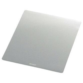 Buffalo mouse pad metallic silver BSPD10SV estimate stock =-