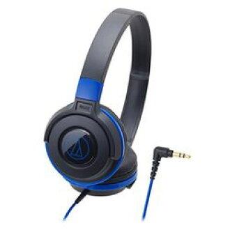 오디오 테크 니카의 휴대용 헤드폰 블랙 블루 ATH-S100 BBL 기준 재고 = ○