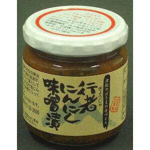 岩木屋 青森の味!行者にんにくみそ漬 瓶 200g(HS10) メーカー在庫品【10P03Dec16】