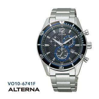 Five years guarantee Citizen citizen ALTERNA Alterna ecodrive chronograph VO10-6741F