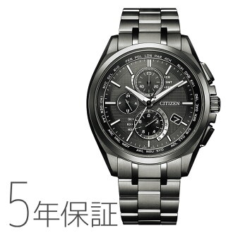 Five years guarantee Citizen citizen ATTESA アテッサ AT8044-56E DLC specifications men watch