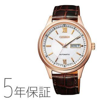 西鐵城collection居民收集一對人機械式NY4052-08A手錶訂購