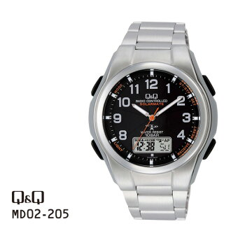 居民Q&Q联合SOLARMATE太阳能电源MD02-205手表