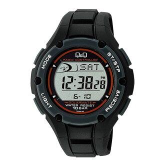 居民Q&Q SOLARMATE數碼手錶太陽能電源MHS6-300人