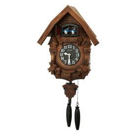 リズム 掛け時計 掛時計 カッコー時計 鳩時計 カッコーテレスR 4MJ236RH06 クロック CLOCK