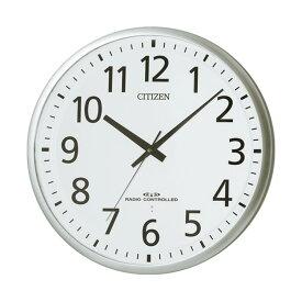 シチズン リズム時計 電波掛け時計 掛時計 スペイシーM465 8MY465-019 クロック CLOCK