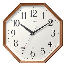 シチズン CITIZEN リズム時計 電波時計 掛け時計 電波掛け時計 8MY529-006
