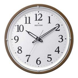 リズム時計 電波時計 掛け時計 電波掛け時計 リバライト532 8MY532SR06
