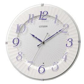 シチズン CITIZEN リズム時計 電波時計 掛け時計 電波掛け時計 8MY537-012