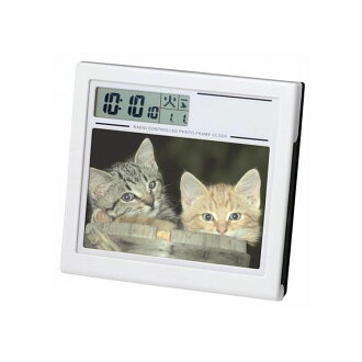 Graduation, graduation keepsakes?? Radio clock photo frame clock alarm clock clock Adesso C-8139