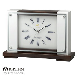 リズム時計 電波置時計 電波時計 置き時計 オルゴール RHG-R05 8RN400HG03 お取り寄せ