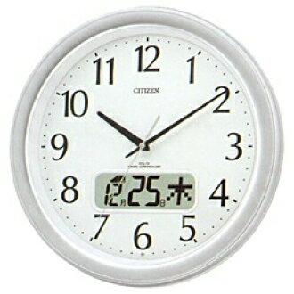 ★ ★ wrapping free ♪ ♪ ◆ ネムリーナ calendar M02 clock clock rhythm clocks calendar display with LCD clock radio 4FYA02-019fs3gm