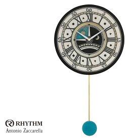 リズム時計 掛時計 飾り振り子付時計 Zaccarella ザッカレラ Z180 ZC180-003 お取り寄せ