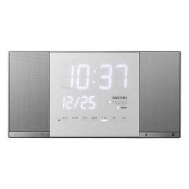 リズム時計 掛時計 置時計 掛置兼用 電波時計 bluetooth 8RZ183RH19 TOKIOTO2