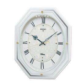 セイコー SEIKO 掛け時計 電波時計 大人ディズニー アナと雪の女王 音楽内蔵 FS505W インテリア時計 お取り寄せ
