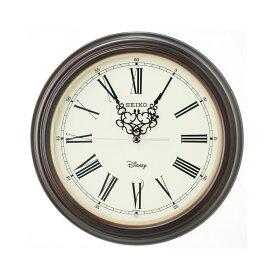 セイコー SEIKO 掛け時計 電波時計 大人ディズニー ミッキー ミニー 木枠 クラシック FS507B インテリア時計 お取り寄せ