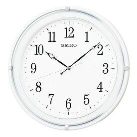 セイコー SEIKO 掛け時計 電波時計 シンプル ホワイト 白 円形 KX231W インテリア時計 お取り寄せ