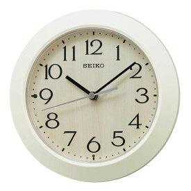 セイコー SEIKO 掛け置き兼用 電波時計 置き掛け兼用 小さめ アイボリー クリーム色 KX245A インテリア時計 お取り寄せ