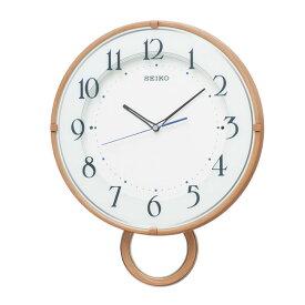 セイコー SEIKO 掛け時計 振り子時計 電波時計 振子時計 木目調 ナチュラル PH206A インテリア時計 お取り寄せ