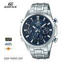 カシオ CASIO EDIFICE エディフィス 電波ソーラー 電波時計 EQW-T630JD-2AJF 腕時計 メンズ
