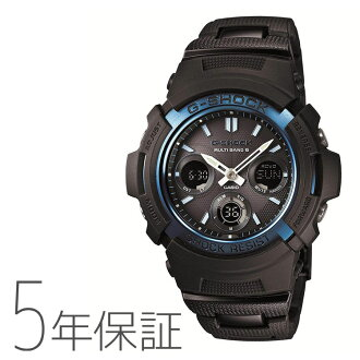 Five years guarantee Casio CASIO G-SHOCK G-Shock electric wave solar radio time signal watch AWG-M100BC-2AJF