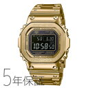 G-SHOCK g-shock Gショック GMW-B5000GD-9JF カシオ CASIO フルメタル スマホ連携 電波 ソーラー ゴールド 金色 メンズ 腕時計