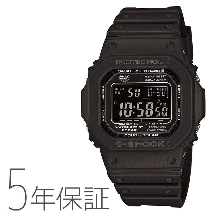 G-SHOCK ブラック 電波ソーラー GW-M5610-1BJF Gorillazキャンペーン ゴリラズ ダウンロードキャンペーン カシオ CASIO タフソーラー GW-M5600 腕時計 メンズ   Gショック ジーショック 黒 電波時計 デジタル 電波腕時計 国内正規品 20気圧防水