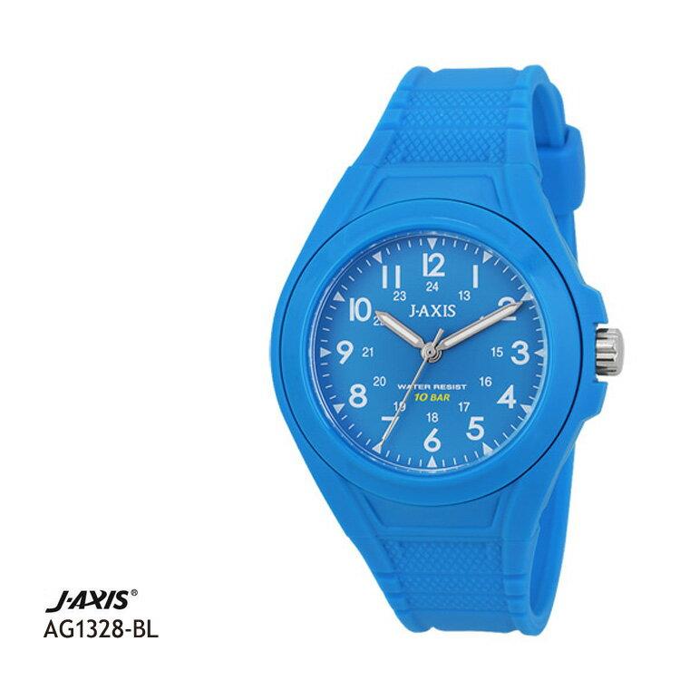 ジェイアクシス J-AXIS サン・フレイム 10気圧防水腕時計 レディース AG1328-BL