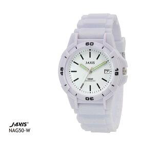 ジェイアクシス J-AXIS サン・フレイム 10気圧防水腕時計 メンズ NAG50-W 全国送料無料 ネコポス限定