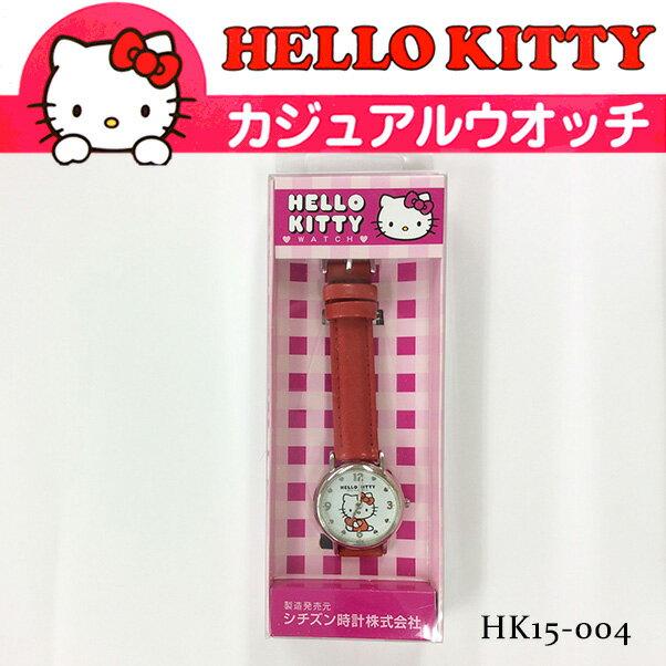 シチズン Q&Q HELLO KITTY WATCH ハローキティ カジュアルウォッチ 腕時計 HK15-004 レディース