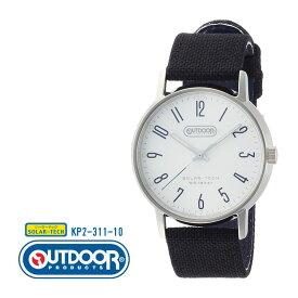 b359b7a80e アウトドア OUTDOOR PRODUCTS シチズン CITIZEN オピダム ラージ メンズ 黒 ブラック KP2-311-10 腕時計