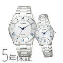 ペアウォッチ Citizen Collection ペア 腕時計 メタルバンド 白 ホワイト シチズンコレクション BJ6480-51B/EM0400-51B CITIZEN シチズン SPAIR00