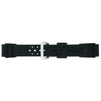 SEIKO SEIKO pure urethane band / diver band perception width: 17mm spare band DAL7BP