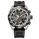 プロマスター PROMASTER CB5036-10X シチズン CITIZEN 電波ソーラー クロノグラフ 黒 ブラック メンズ 腕時計