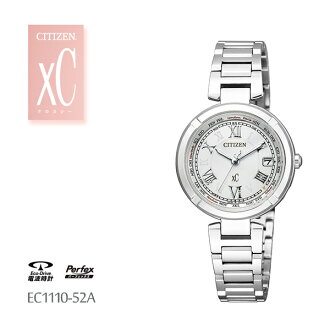 居民西铁城Xc交叉海电波钟表LINE快乐航班EC1110-52A手表