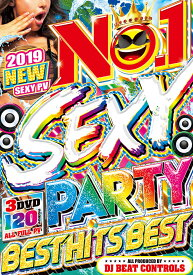 洋楽DVD 3枚組 120曲 ALLフルPV 2019最新 No.1 Sexy Party Best Hits Best - DJ Beat Controls 3DVD 国内盤