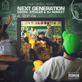 【SALE】 【MIXCD】聴き逃し厳禁次世代MIX!NEXT GENERATION - DREAM TEAM MUSIC Presents - SOCKS, STEALER & DJ NONKEY 【洋楽】【国内盤】