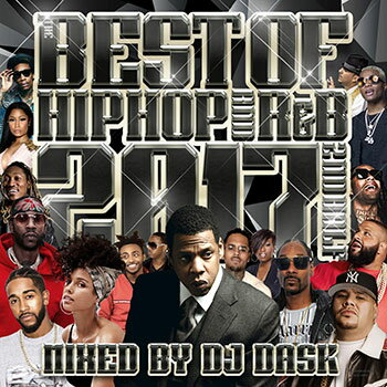 【MIXCD】全クラブミュージックファン必須アイテム! THE BEST OF HIP HOP AND R&B 2017 2nd HAL - DJ DASK 【洋楽】【国内盤】