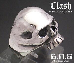 Clash ダークスカルリング シルバー925